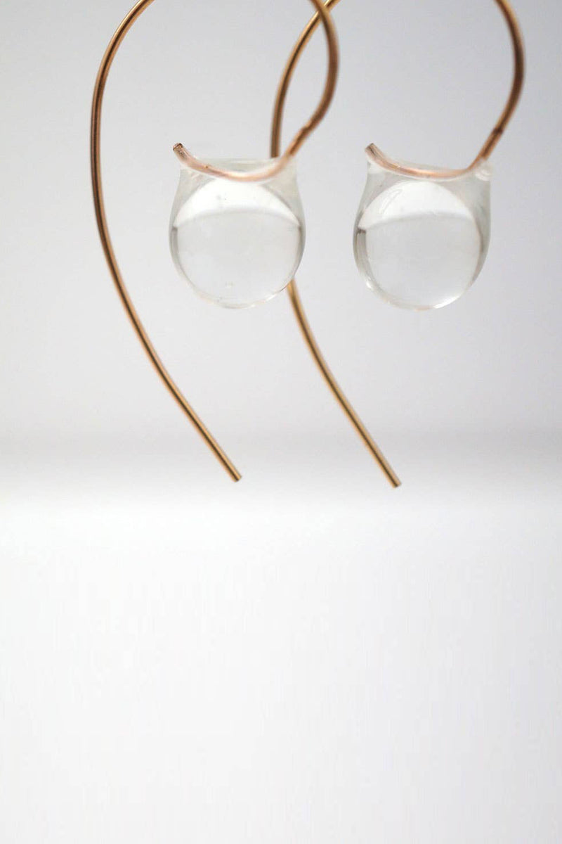 Stem Droplet Earrings