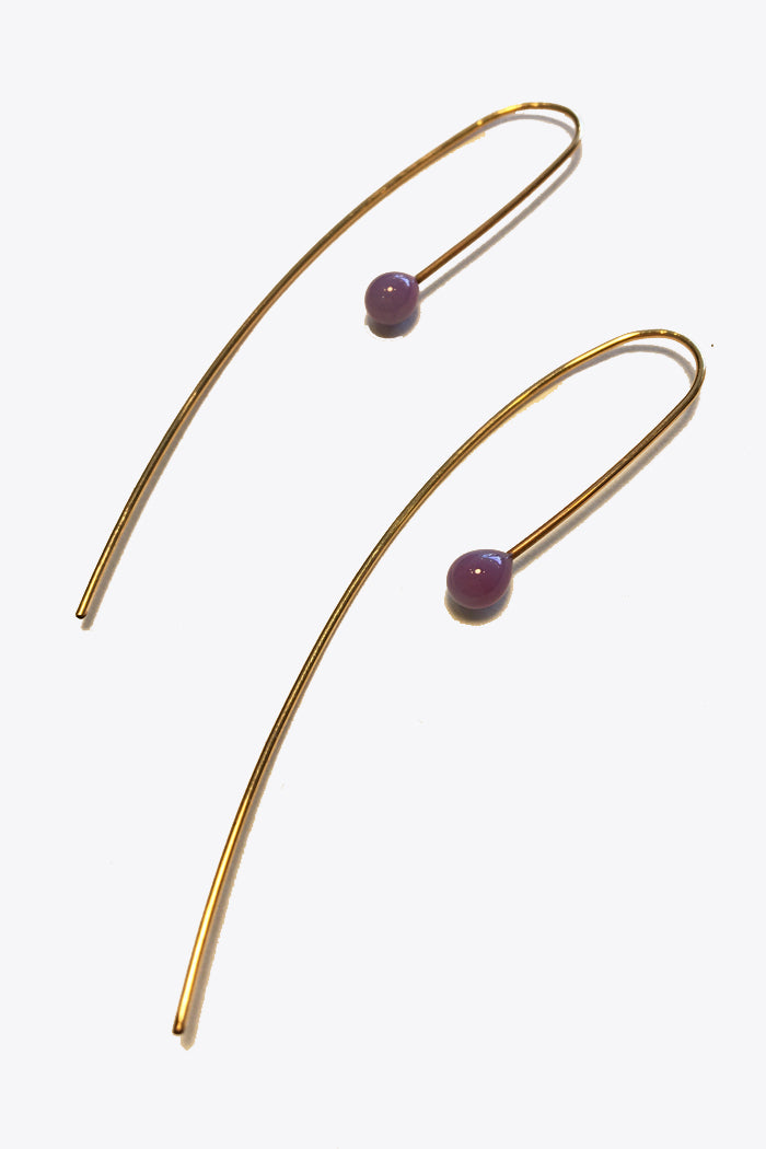 Long Curve Earrings