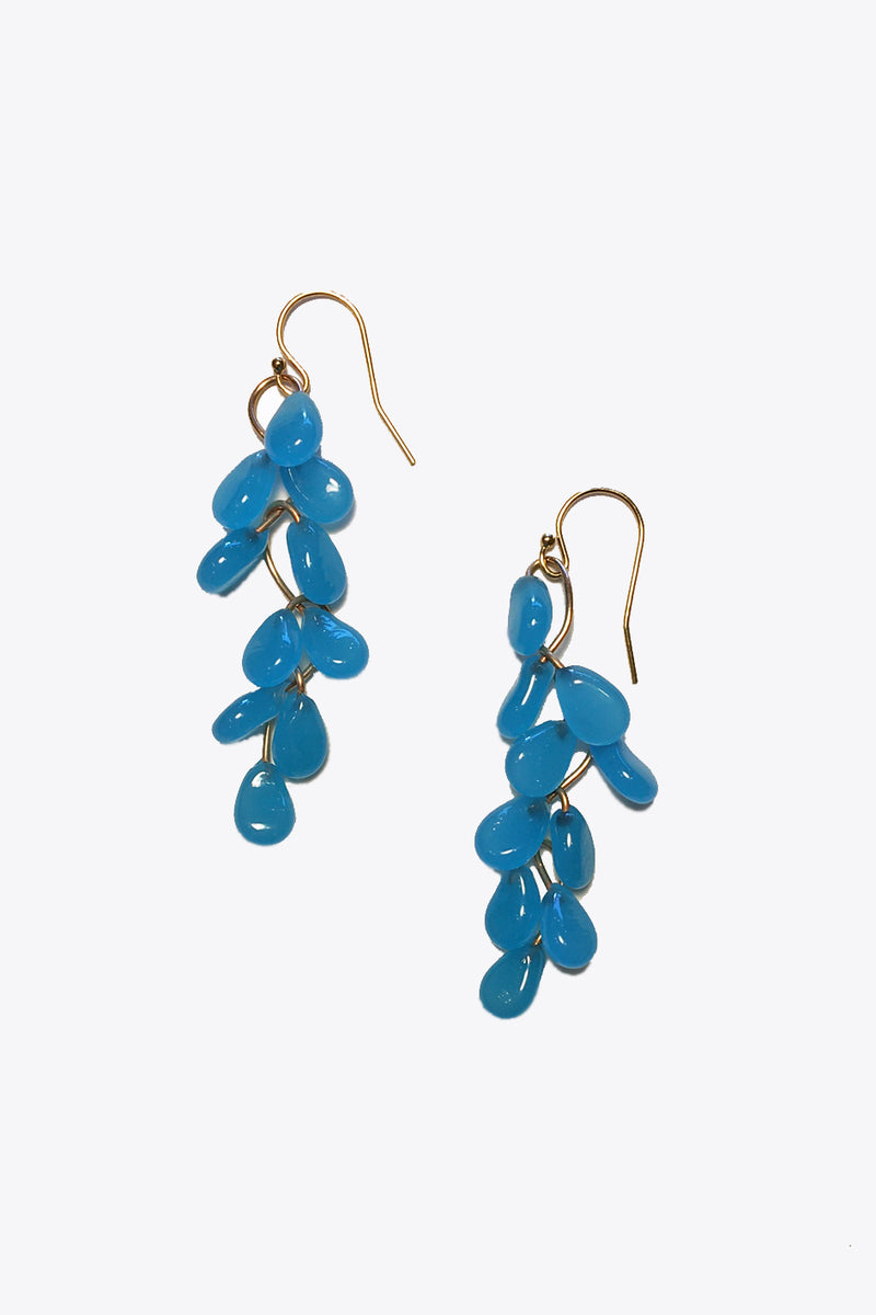 Long Zig Zag Earrings