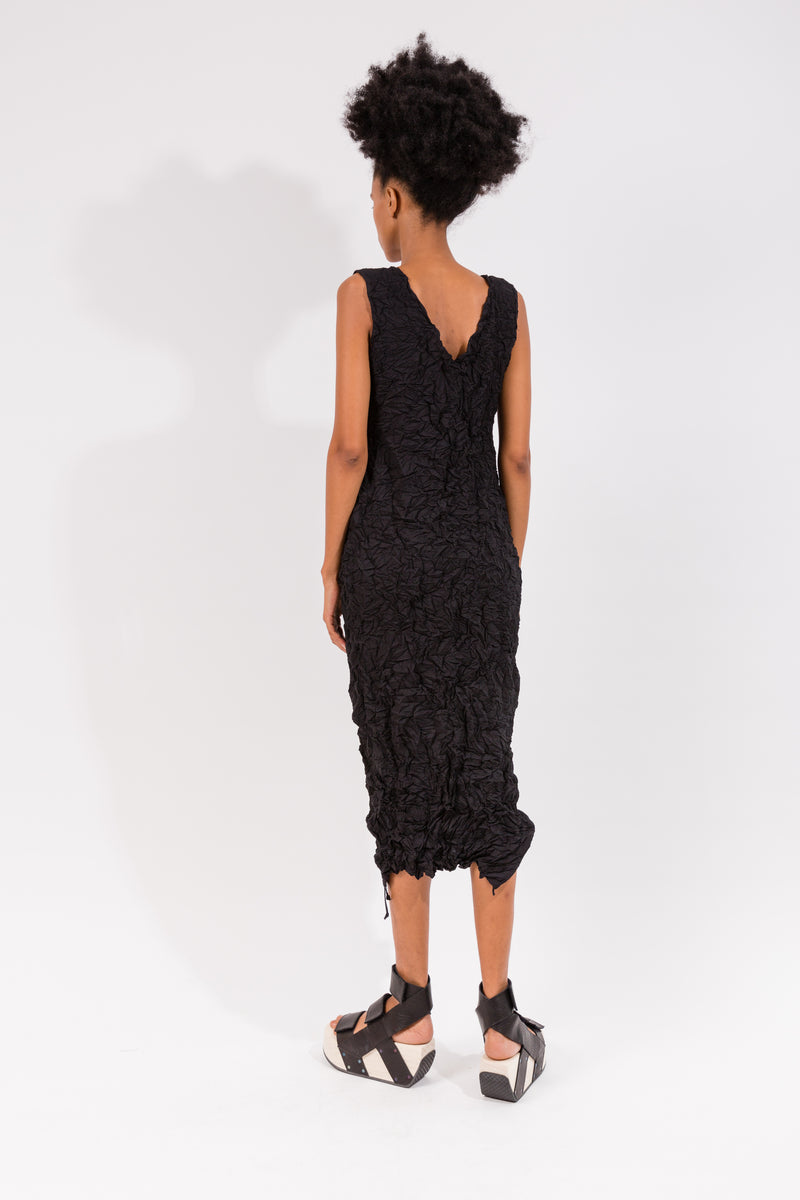 Moth Chrysalis Dress in Black