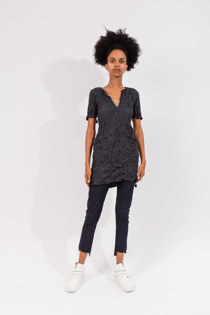 Moth S/S Shirt Dress in Xanadu