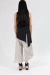 S/L Trapezoid Tunic in Hemp Organic Cotton