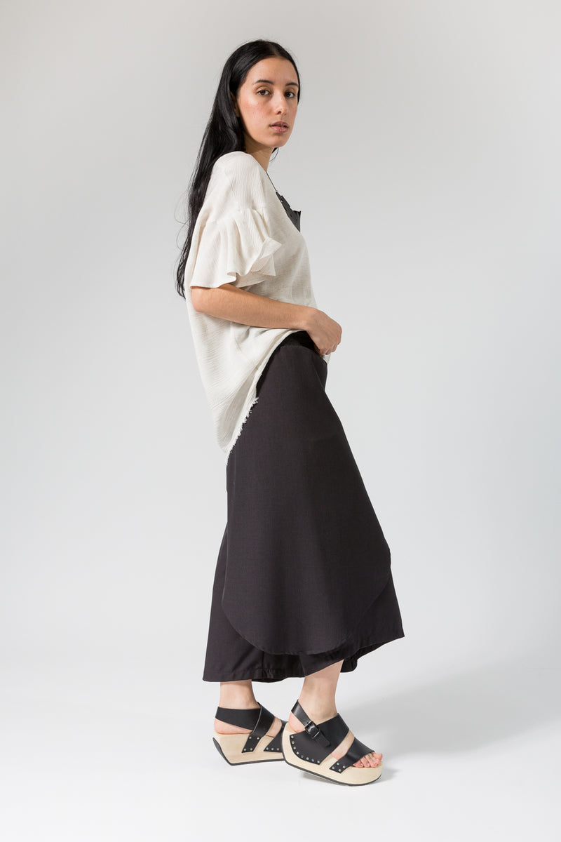 Long Asymmetrical Skort in Xanadu