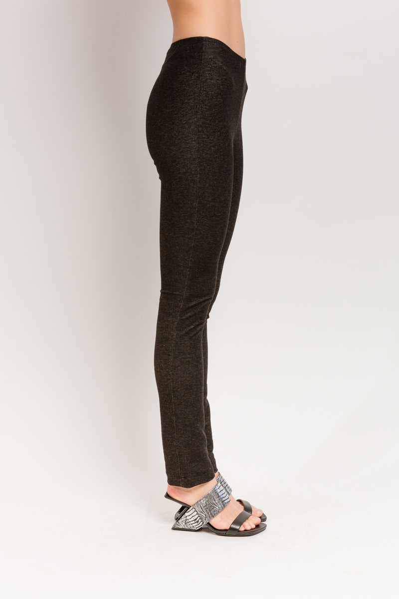 Denim Woven Leggings in Organic Cotton