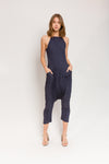 Twisted Berlin Jumpsuit in Xanadu