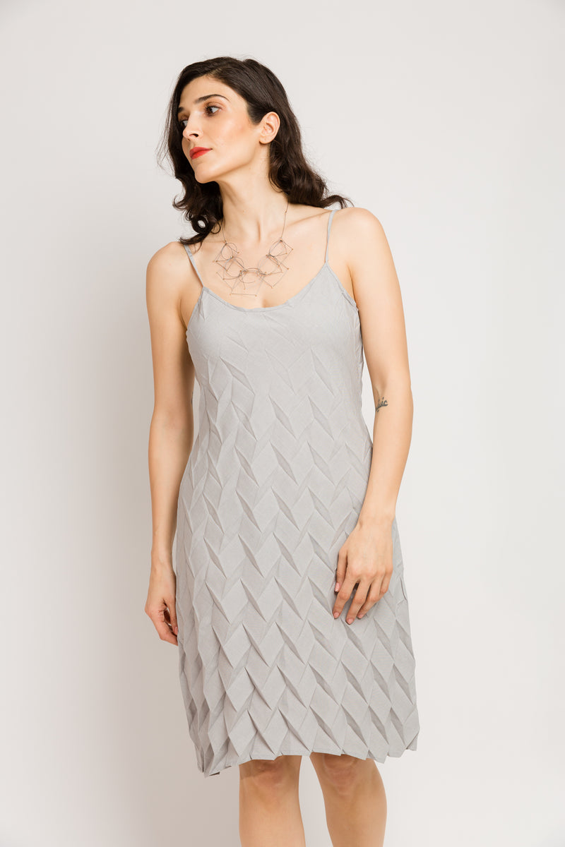 Diamond Tank Dress in Xanadu