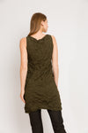 Moth Cowl Tunic in Olive