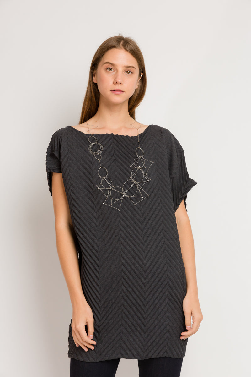 Chevron Andy Tunic