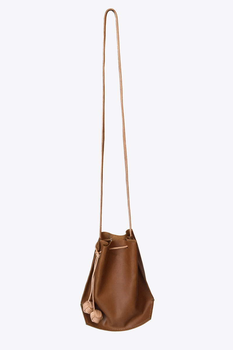 K(not) Bucket Bag in Cognac
