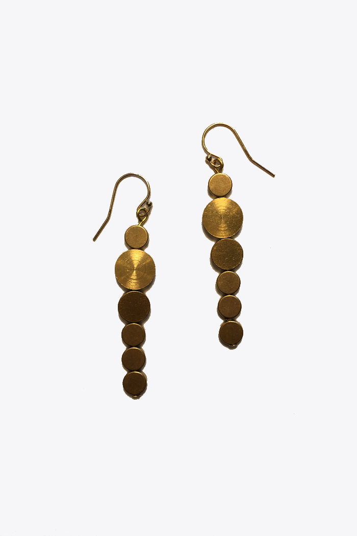Long Discs Earrings