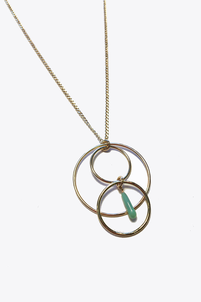 Halo Circles Necklace