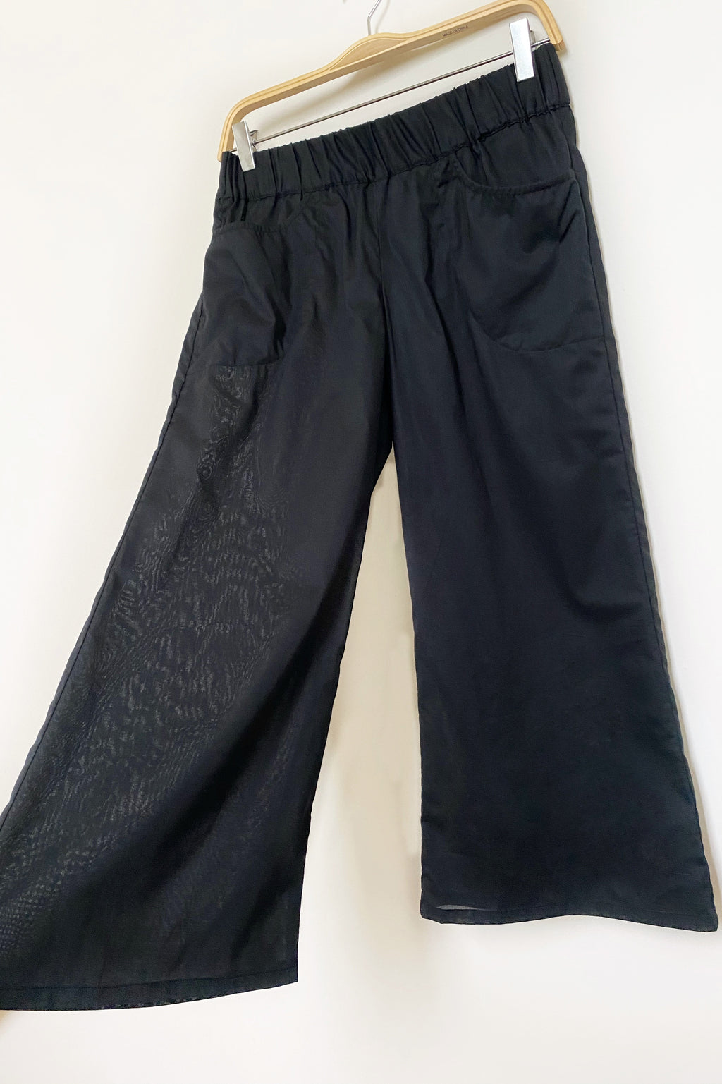 Kelly Pants in Black Organic Cotton