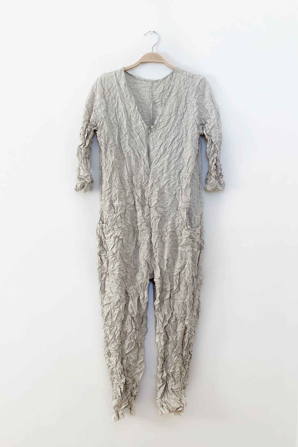 Moth Boiler Suit in Stone