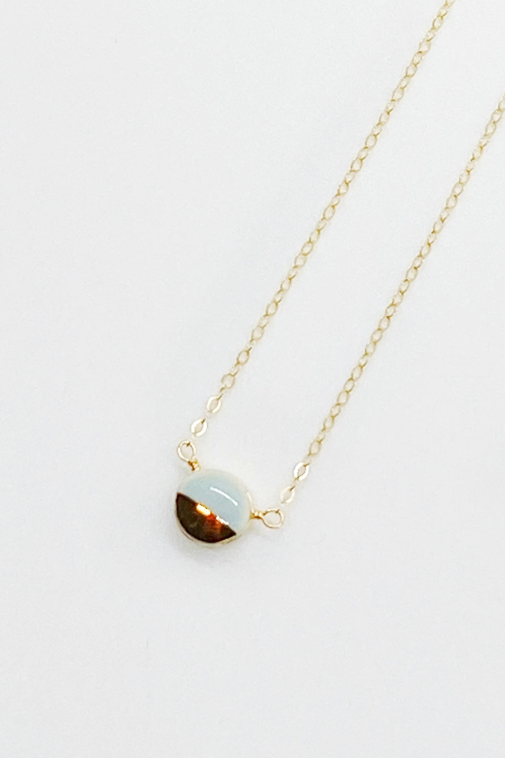 Teeny Pebble Wrap Necklaces