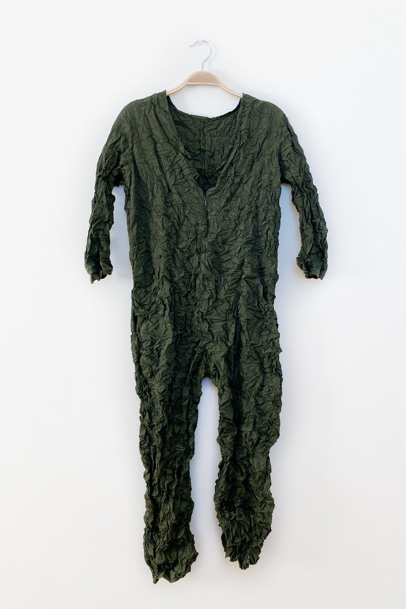 Moth Boiler Suit in Olive