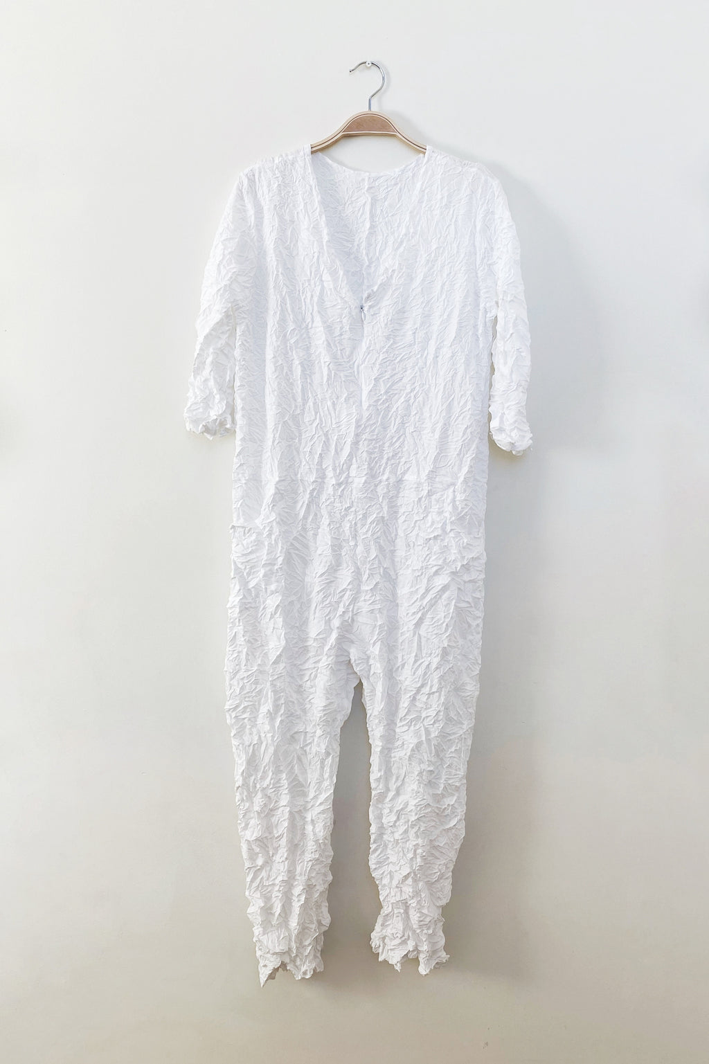 Moth Boiler Suit in White