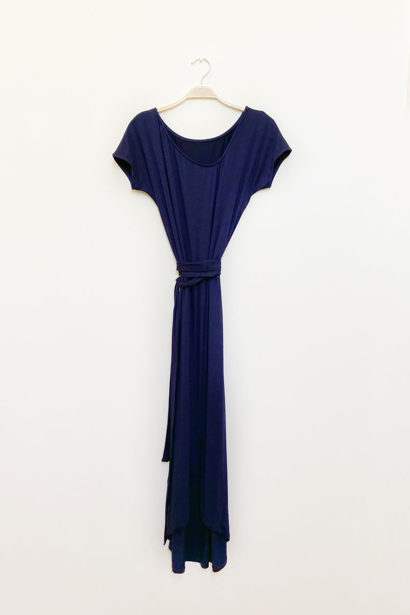 Charleston Dress in Midnight Navy