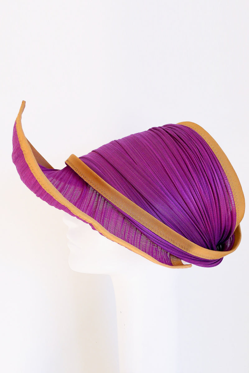 Bonnet Sun Visor in Ultraviolet
