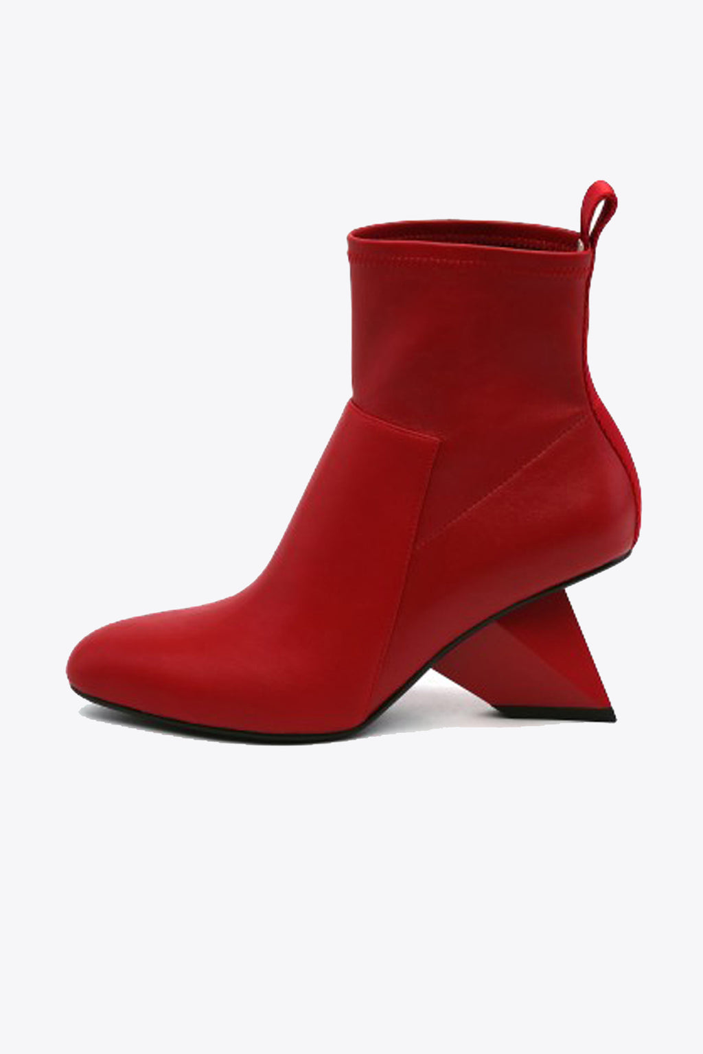 SALE United Nude Rockit Pure Bootie in Deep Red