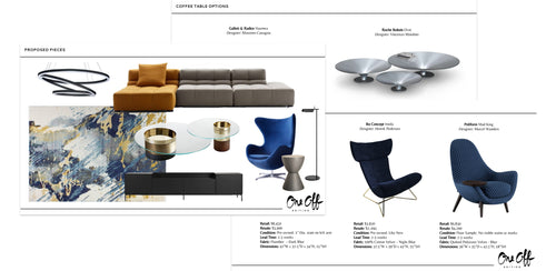 One Off Edition - Design Service - tailored experience - Outlet furniture