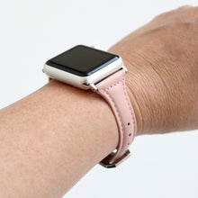 Load image into Gallery viewer, Apple Watch Slim Leather Bands