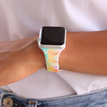 Load image into Gallery viewer, Tie Dye and Printed Slim Apple Watch Bands