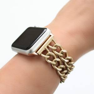 Double Chain Link band for Apple Watch