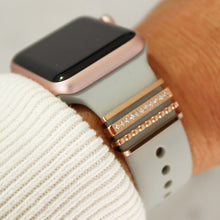 Load image into Gallery viewer, Rose Gold Jewelry for Apple bands