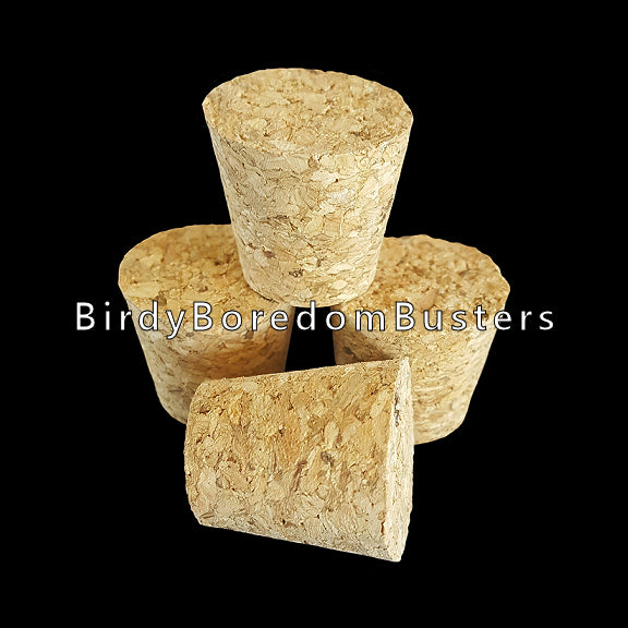 Natural, untreated & glue-free corks measuring approx 1-1/8