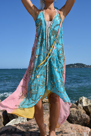 Robe Multicolore by AVA Precious Goods