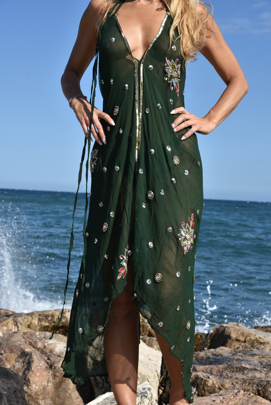 Robe Verte by AVA Precious Goods