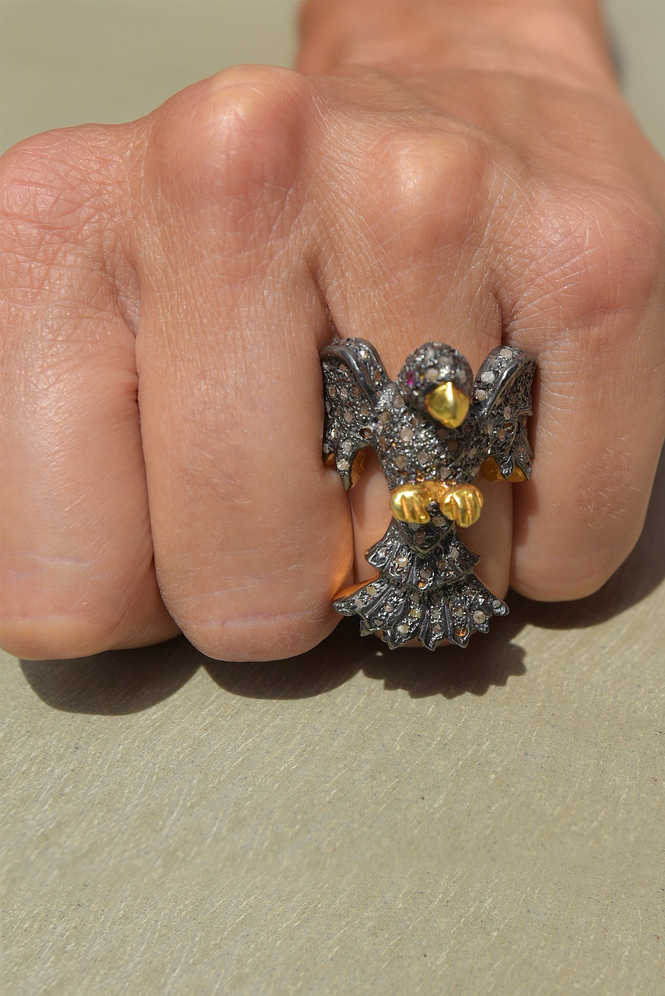 Bague Eagle by AVA Precious Goods