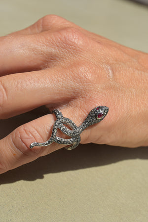 Bague Serpent by AVA Precious Goods
