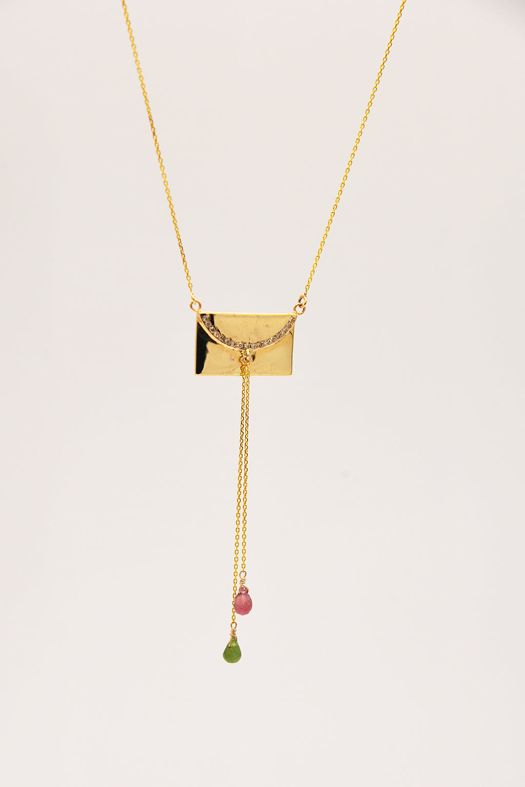 Collier Secret Letter by AVA Precious Goods
