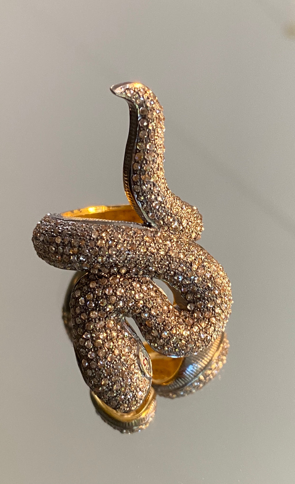 Bague Serpent Aurelia by AVA Precious Goods