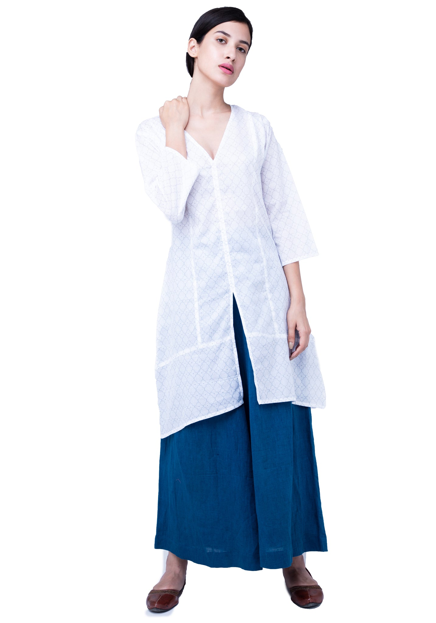 Naviyata Paneled Tunic