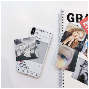 DIY replacement photo phone case( Free six exquisite cards)