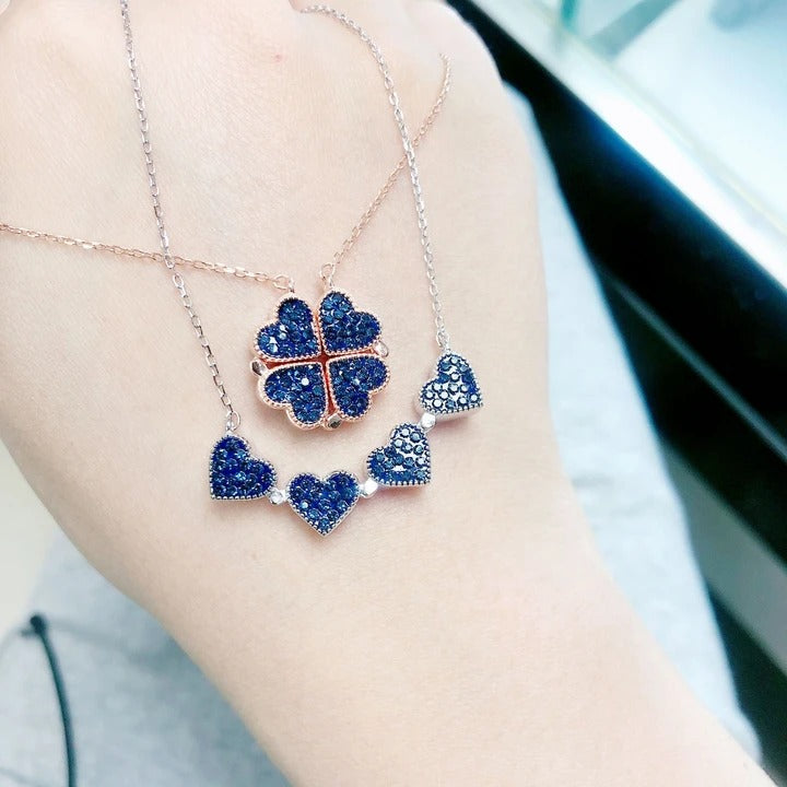 Women's Favorite S925 Silver Clover Necklace