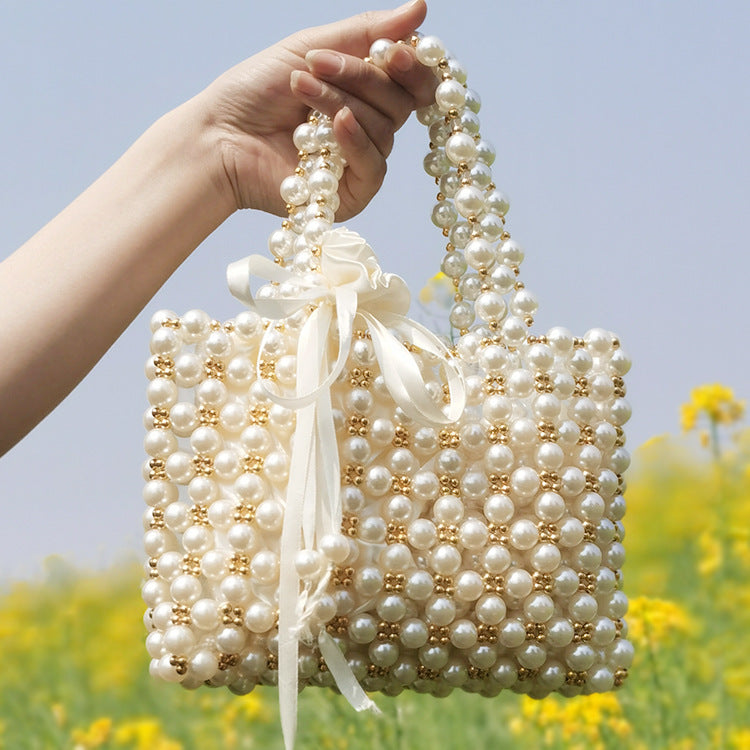 2020 new Korean handmade pearl bag