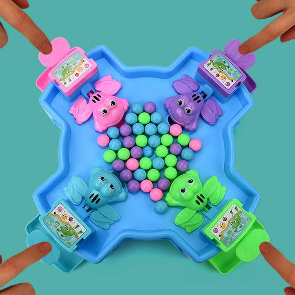 Hungry frog-parent-child interactive toy