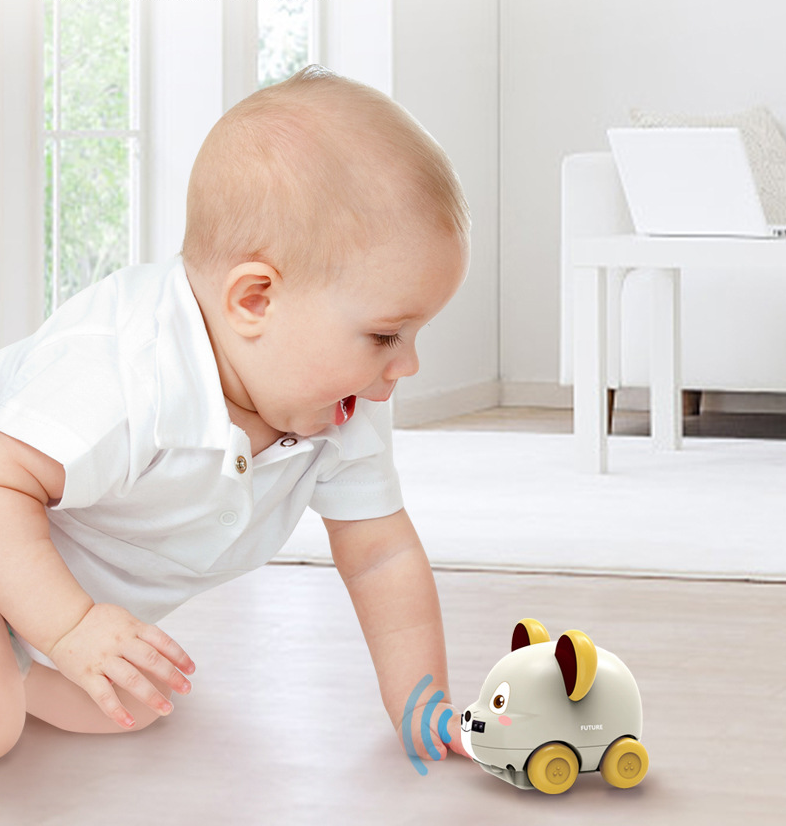 Kawai mouse sensor follows the remote control car