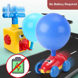 Rocket Balloons Car Children's Science Toy | Buy 2 Free Shipping
