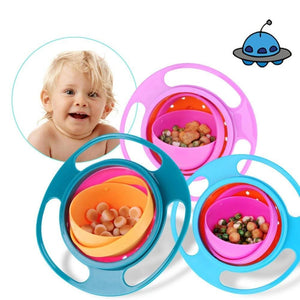 MAGIC BABY BOWL - 360 ROTATING