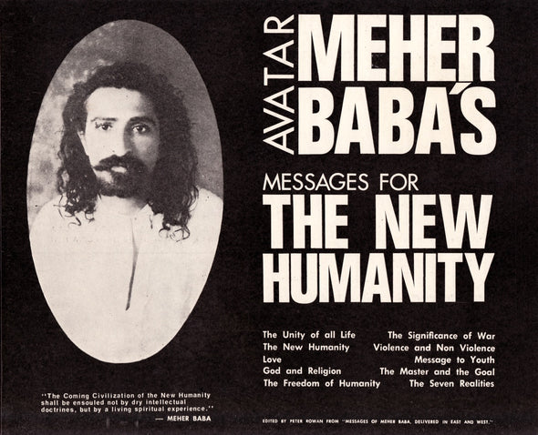 Avatar Meher Baba's Messages For The New Humanity