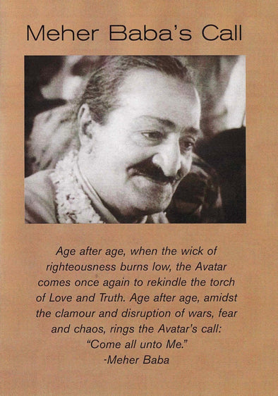 Meher Baba's Call