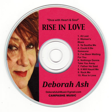 Rise In Love (CD) by Deborah Ash