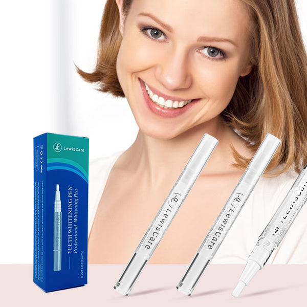 LewisCare Professional Teeth Whitening Pen 3pcs 35% Carbamide Peroxide Gel