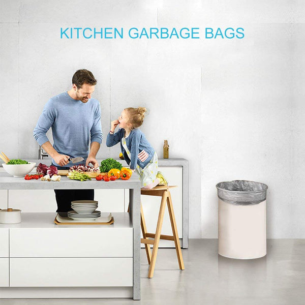 4 Gallon Small Garbage Bags For Bathroom/Kitchen/Office/Home