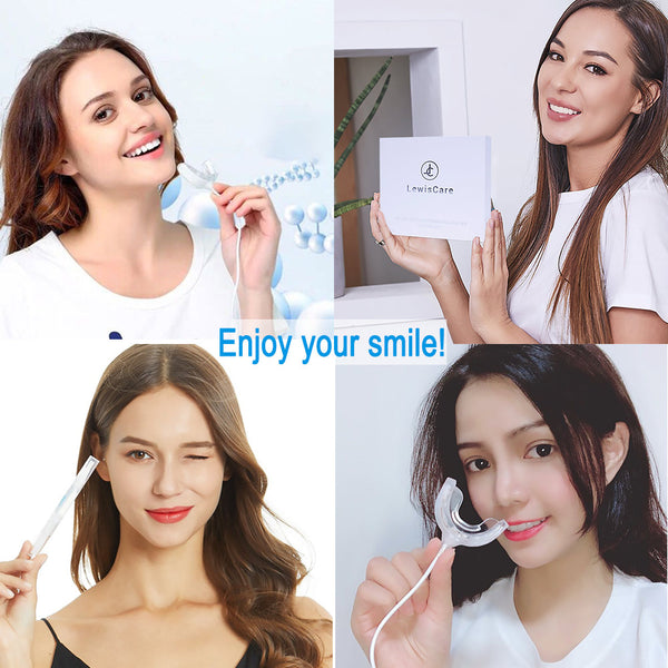 Teeth Whitening Kit with led Light, Include Teeth Whitening Pen(3pcs) 35% Carbamide Peroxide Gel,Desensitizing Pen,No Sensitivity,Effectively
