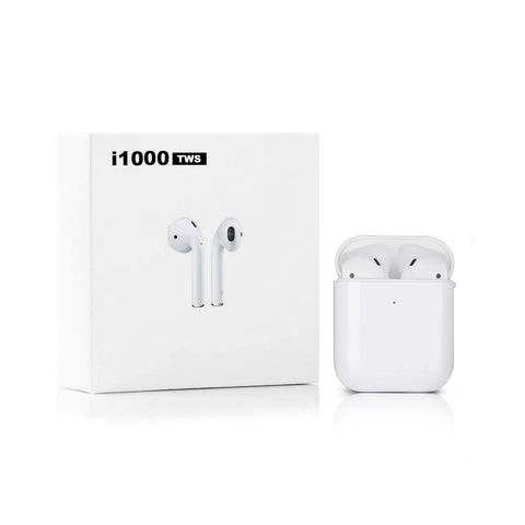 i1000 TWS Wireless Bluetooth headphones With Charging Box - The Electronic